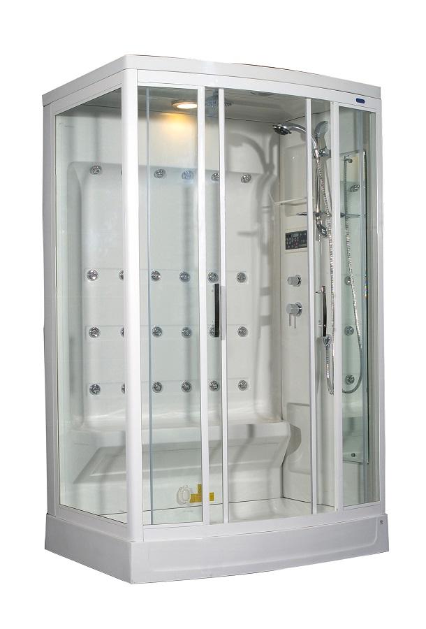 Aston 2-Person Steam Shower with 24 Body Jets -ZA219 L/R- 52\