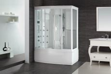 Aston Steam Shower w/ Whirlpool Bath ZAA208-R/L-59.4x36.6x85.8
